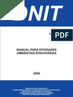 Manual Para Atividades Ambient a Is Rodoviarias