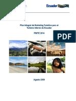 Pimte 2014 Edicion Turismo Interno