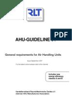 RLT Richtlinie01 AHU Guideline 01
