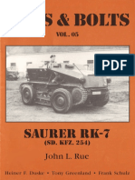 Nuts and Bolts Vol 05 Saurer RK 7 Sdkfz 254