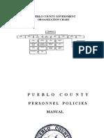 Pueblo County Personnel Manual 2016