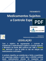TREINAMENTO - Medicamentos Controlados