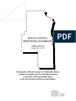 Routt County Personnel Manual 2016