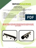 Hybrid Racing K-Series Fuel Rail Install Guide