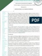 2da. Resolucion Del Xxx Encuentro de Corregidores Del Tipnis