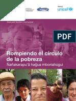 Rompiendo el círculo de la Pobreza-LIBRO UNICEF 2011