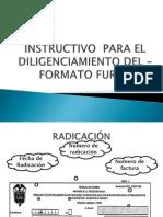 INSTRUCTIVO – FORMATO FURIPS