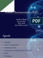 WPI Pharmaceuticals