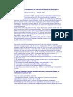 Directii in Dezvoltarea Sistemelor de Comunicatii Bazate Pe Fibra Optica