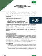 CIBERTEC_-_DAW-II_-_Definicion_de_Proyecto_2011-II
