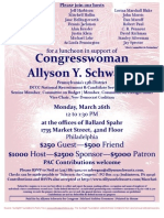 Luncheon for Allyson Schwartz