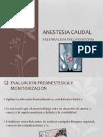 Anestesia Caudal