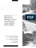 66928793 Guidelines for Geometric Design of Very Low Volume Local Roads