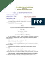 Presidência da República - Lei 5.194(REFORMULADO)