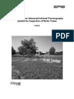 Infrared Inspection of Boiler Tubes