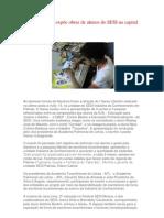 Sarau Literário expõe obras de alunos do SESI na capital