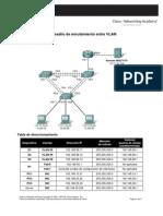 6.4.2 Desafío de enrutamiento entre VLAN