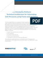 Winshuttle-TechnicalArchitecture for Automating SAP Processes Using Forms and Workflow-Whitepaper-En