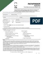 Pathfinder Application