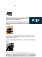 Historia Del Procesador de Texto