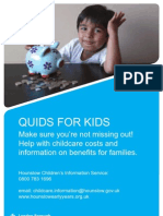Benefits for Kids
