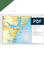Mapa 1  Planejamento Urbano e Regional - Diretrizes Regionais Paranaguá