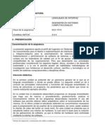 O ISIC-2010-224 Lenguajes de Interfaz