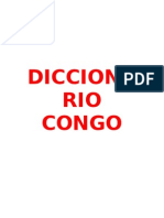2.- Diccionario Congo