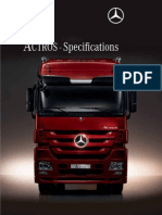 ACTROS - Specifications