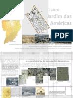 Desenho urbano - Bairro Jardim das Américas, Curitiba, PR