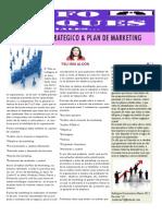 ARTÍCULO DE PLAN DE MARKETING Y PLAN ESTRATEGICO