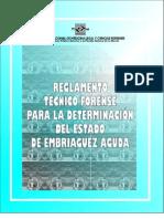 Resolucion 1183-2005 Reglamento Técnico Pruebas Embriaguez
