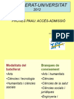 Alumnes 2n Batx (Pau) 2012
