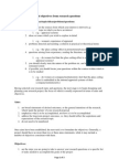Formulating Aims and Objectives From Research Questions