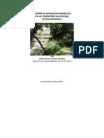 Informe de Hidraulica Las Colinas