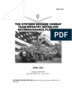[eBook - Military] US Army Field Manual 003-021.94 Operations) the Stryker Brigade Combat Team Infantry Battalion Reconnaissance Platoon