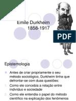 Aula 3 - Durkheim