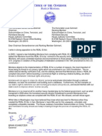 Schweitzer letter on REAL ID