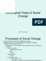 201 Sociological Views of Social Change