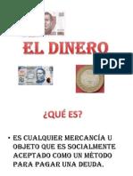 EL DINERO_exposicin de Economs