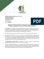 Requiere Thomas Rivera Schatz Las Listas Firmadas