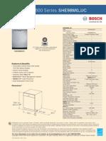 Bosch SHE98M0_UC