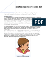 Disfunciones Orofaciales.intervencion Del Logopeda