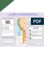 EL ORIGEN Y EXPANSION DE LOS INCAS
