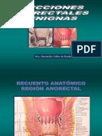 Patologia benigna anorrectal