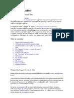 Lengua de señas wikipedia