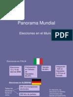 Panorama Electoral Mundial