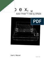 Printer Epson T-1000