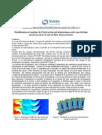 analyse interaction aérodynamique snecma