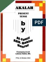 Simple Present Tense PDF